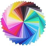 Opret 100 Feuilles 50 Couleurs Vivesde Papier Origami 20 x 20 cm, pour Les Projets De Bricolage Arts et Métiers Origami de No