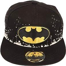 """""""DRUNKEN"""" Kid's Black Adjustable Snapback Cotton Cap"""