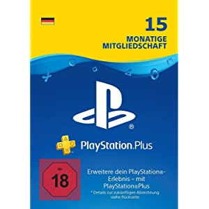 15 Monate PlayStation Plus