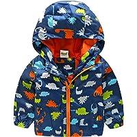 CHIC-CHIC Vest Manteau Garçon Fille Bébé Enfant Sweat-shirt Capuche Blouson Motif Animal Pull-over Longue Manche…