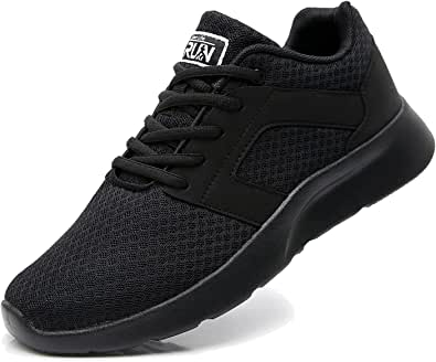 Fexkean Scarpe da Ginnastica Sportive Uomo Donna Running Sneaker Casual Leggero Basse Corsa Calzature Outdoor Fitness Traspirante Mesh 36-47EU