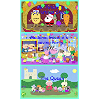 Storybook Collection: Mr. Potato's Christmas Show, Madame Gazelle's Leaving Party and The Queen - Great Picture Book For…