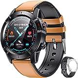 AGPTEK Smartwatch Hombre, Reloj Inteligente de HD Pantalla Táctil Completa Impermeable IP68 con 7 Deportes, Pulsómetro, Monit