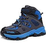 Stivali da Escursionismo Ragazzi Stivali da Neve Ragazze Scarpe da Escursionismo Ragazzo Bambini Trekking