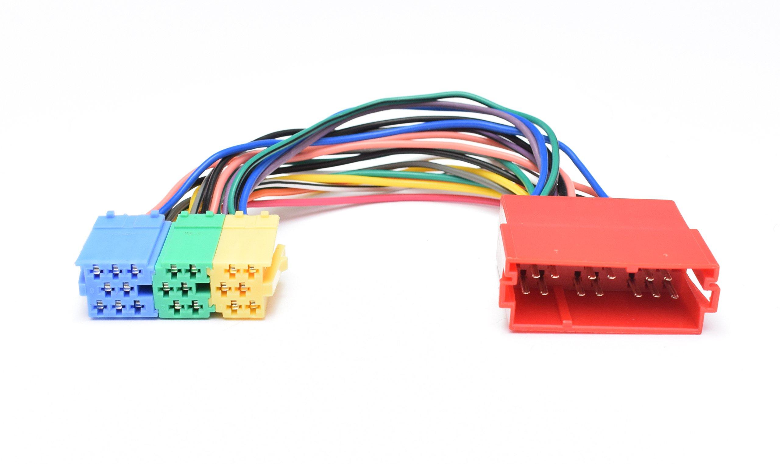 Bluetooth-Audio-Interface-geeignet-fr-8pin-Mini-ISO-Audi-Chorus-2-Concert-2Symphony-12-Navigation-Plus-12-RNS-D-VW-MCD-MFD-Gamma-5