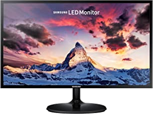Samsung 27 inch (68.6 cm) LED Monitor - Full HD, Super Slim AH-Ips Panel with VGA, HDMI Ports - LS27F350FHWXXL (Black)