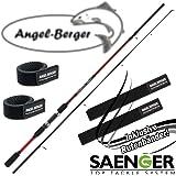 Angel-Berger Sänger Sensitec Barsch Forelle 8-28 Spinnrute Rutenband