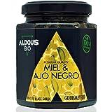 Autentico Miele Biologico con Aglio Nero Bio | Prodotto Gourmet | 100% Naturale e Artigianale | Senza zuccheri aggiunti | Pro