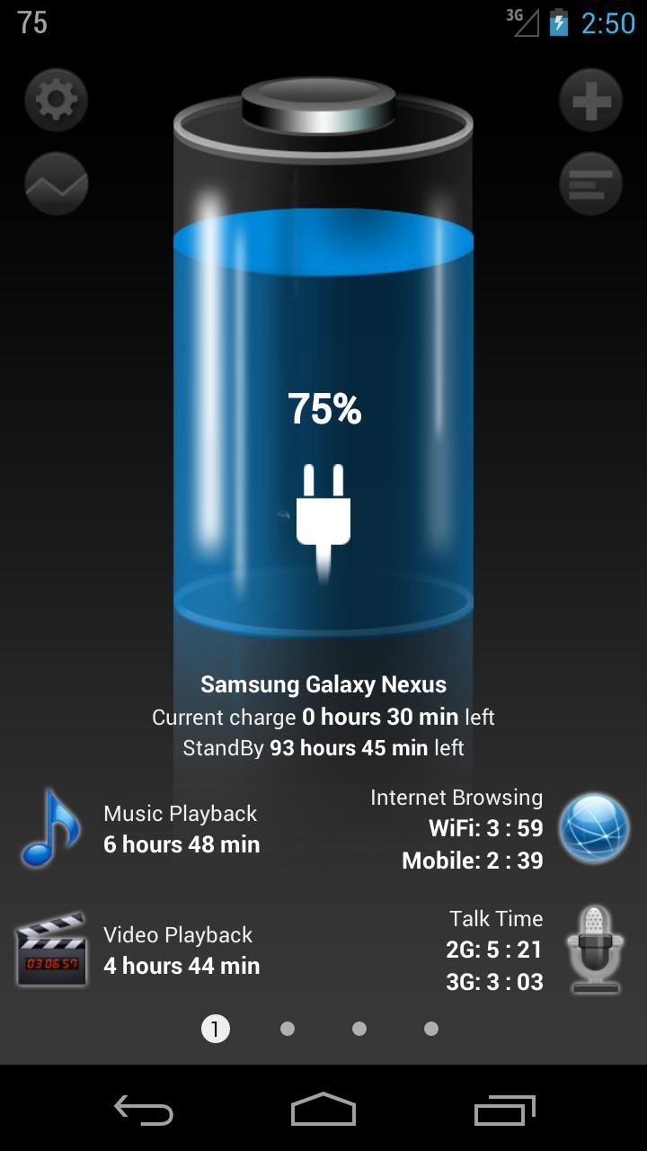 Batterie HD Pro - Battery Capture d'écran