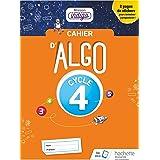 Cahier Algo Mission Indigo Cycle 4 - Ed. 2018 (Mission Indigo mathématiques)