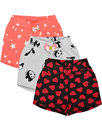 9a324cb877 Shorts For Girls: Buy Girls Shorts online at best prices in India ...