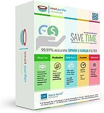 E-mail Purifier (Spam Filter) 1 user, 1 Month (Voucher) – Macro World Softwares (First time user)