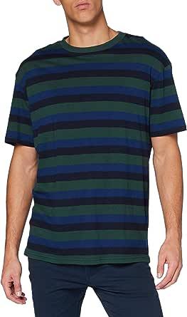 Urban Classics Men's College Stripe Tee T-Shirt