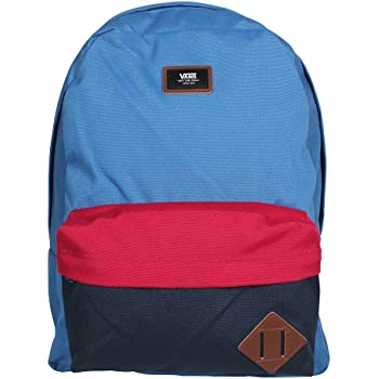 f016eba560d Vans Old Skool II Backpack Casual Daypack, 42 cm, 22 Liters, Delft  Colorblock