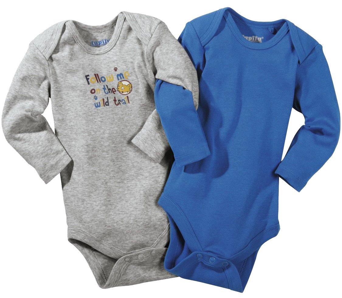 lupilu® 2X Baby Langarmbodys