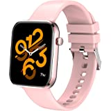 """MISIRUN Smart Watch for Men Women, 1.69"""" Full Touch Screen Fitness Trackers with Real-Time Heart Rate Monitor, IP67 Waterproo"""