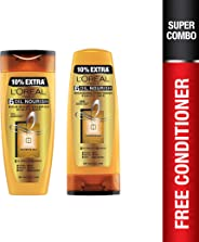 L'Oreal Paris Hex 6 Oil Shampoo, 360ml+L'Oreal Paris Lp Hex 6 Oil Conditioner, 175ml