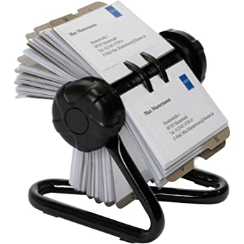 Rotary card file or rolodex business card carousel for 400 rotary card file or rolodex business card carousel for 400 business cards including 24 piece colourmoves