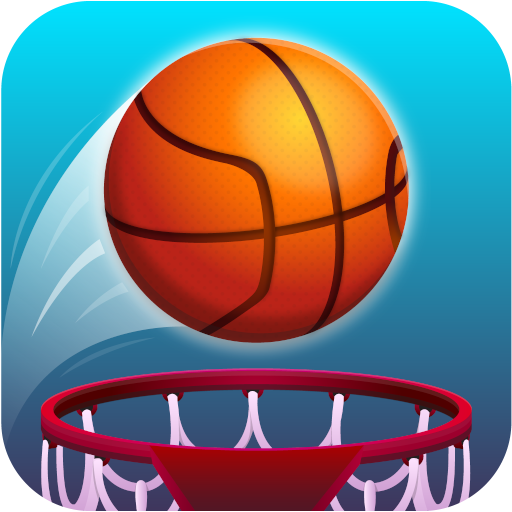 Hot Dunk: Addicting Tap Tap Basketball Ring Strich Spiele (Basketball Spiele)