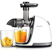 AMZCHEF Extracteur de Jus de Fruits et Légumes Sans BPA Slow Juicer Presse à Froid Machine avec moteur silencieux/tasse…