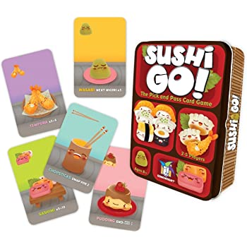 Gamewright Sushi Go - The Pick And Pass Card Game