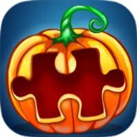Gespenster in Kürbis Puzzle - Halloween Edition Pro