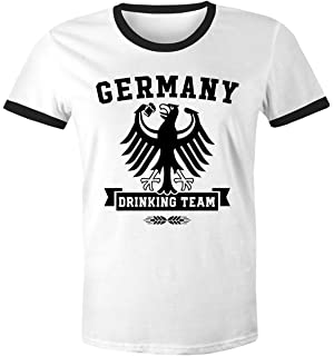 MoonWorks Herren WM-Shirt DDR Fan Nostalgie 2018 Retro