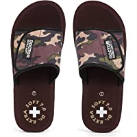 DOCTOR EXTRA SOFT Men's Camo Ortho Care Orthopaedic and Diabetic Velcro Adjustable Strap Super Comfort Dr.Sliders…