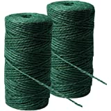 Green Jute String Garden Twine Horticultural Twine String GJ60 Roll 60 Metres
