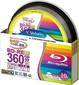 Verbatim Blu Ray Bd Re Dual Layer 10er Spindel Computer Zubehör