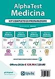 Alpha Test. Medicina. Kit completo di preparazione: Manuale di preparazione-Esercizi commentati-Prove di verifica-10.000…