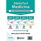 Alpha Test. Medicina. Kit completo di preparazione: Manuale di preparazione-Esercizi commentati-Prove di verifica-10.000 quiz