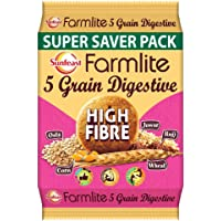 Sunfeast Farmlite Digestive High Fibre Biscuit Bag, 1 kg