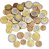 Learning Resources LSP0026-EUR speelgeldset euromunten (set met 100 stuks)