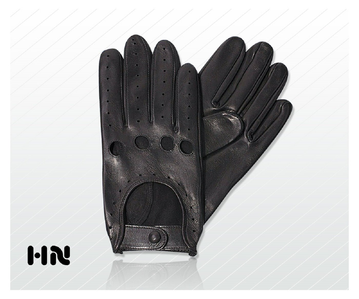 Mens leather gloves amazon uk - Mens Classic Driving Gloves 505 Chauffeur Lambskin Leather Dress Fashion Motor Bike Glove Vintage