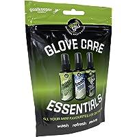 gloveglu glove glue glove care system goalkeeping gloves , 120 ml x 3