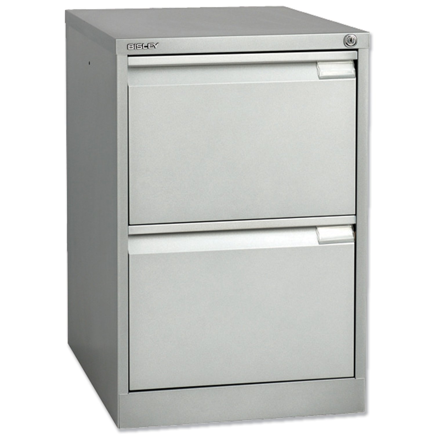 Bisley BS2E Filing Cabinet Flush-front 2-Drawer W470xD622xH711mm ...
