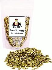 Food Library Raw Green Pumpkin Seeds, 200g