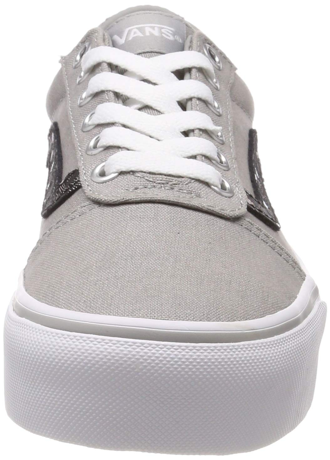 vans ward platform canvas scarpe da ginnastica basse donna