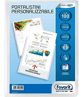 Portalistino Personalizzabile 20FG 15x21cm 1pz