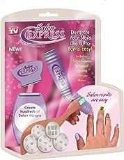 ZURU BUNCH Salon Express Professional Nail Polish Art Kit Decals Paint Stamp