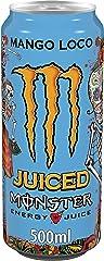 MONSTER ENERGY Mango Loco - Bebida energética - Lata 500 ml
