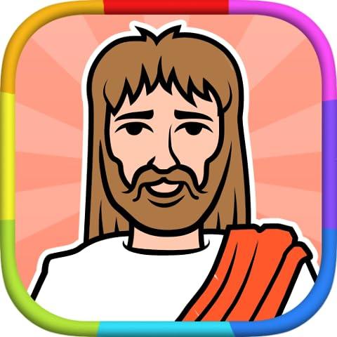 Bible Coloring Book - Colori Scheda Libro