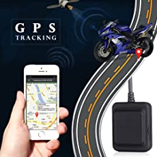 Sedeta® Motorrad-Quad-Band GPS-Tracker Mini-Locator Anti-Diebstahl-Positionierung GSM-GPS-Echtzeit-Tracking-Gerät für Auto Auto