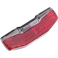 AXA Unisex 93961495SC Rücklicht Blueline 50 mm, Rot, 10x3x3cm