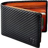 BIAL Mens Wallet, RFID Blocking Wallet, Wallets Mens, Bifold Wallet, Flip Wallet, Wallets for Men, Slim Bifold Wallet, 2 ID W