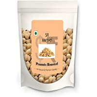 SR FRESHD Peanuts Roasted Unsalted Whole Seeds Premium Products Fresh and Naturally Cooking ,Grade A Peanuts, Skin…