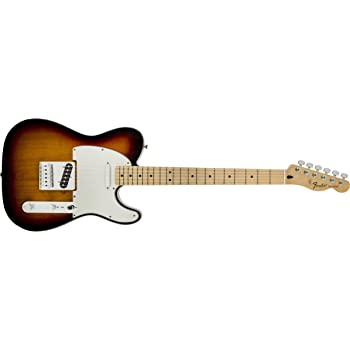 Fender 0145102532 Standard Telecaster Maple Fingerboard Electric Guitar - Brown Sunburst