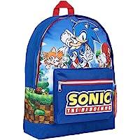 Sonic The Hedgehog Backpack, Rucksack for Kids and Teenagers, Large Capacity Boys School Bag, Children Backpacks, Sonic…