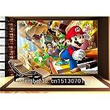 Aangepaste Grote Foto Behang Super Mario Muurschildering Klassieke Games 3D Comic Room Decor Muur Art Slaapkamer Hal Achtergr